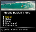 Mobile Hawaii Tides